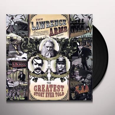 The Lawrence Arms GREATEST STORY EVER TOLD Vinyl Record