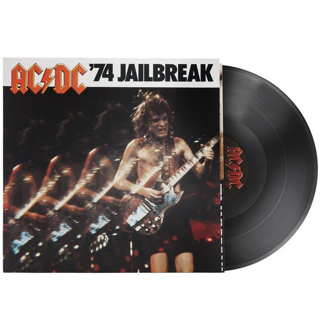 AC/DC 74 JAILBREAK Vinyl Record