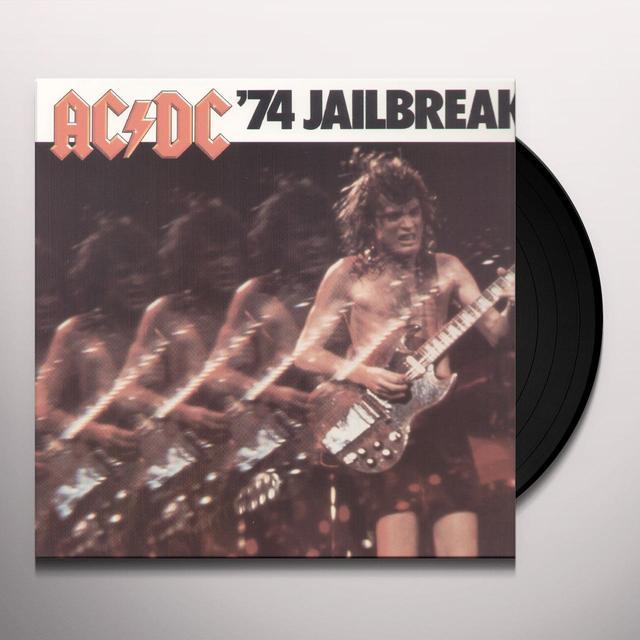 AC/DC 74 JAILBREAK Vinyl Record - Remastered