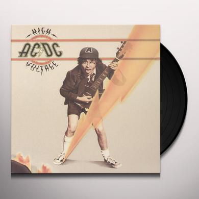 AC/DC HIGH VOLTAGE Vinyl Record - Remastered