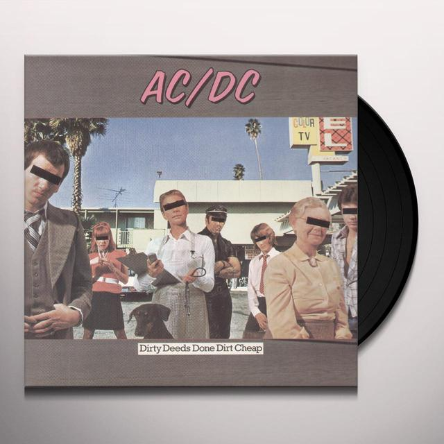 AC/DC DIRTY DEEDS DONE DIRT CHEAP Vinyl Record - Remastered