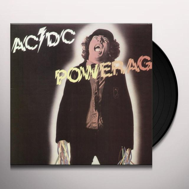 AC/DC POWERAGE Vinyl Record - Remastered