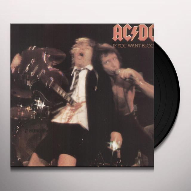 AC/DC IF YOU WANT BLOOD YOU'VE GOT IT Vinyl Record - Remastered