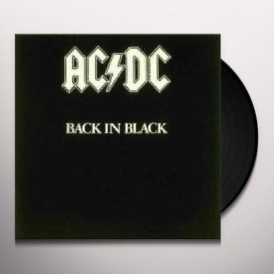 AC/DC BACK IN BLACK Vinyl Record - Remastered
