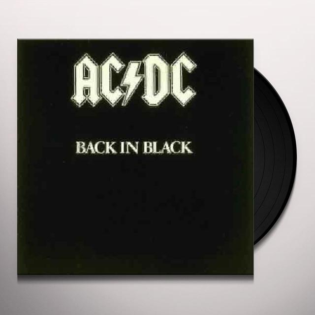 AC/DC BACK IN BLACK Vinyl Record