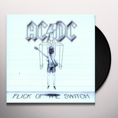 AC/DC FLICK OF THE SWITCH Vinyl Record - Remastered