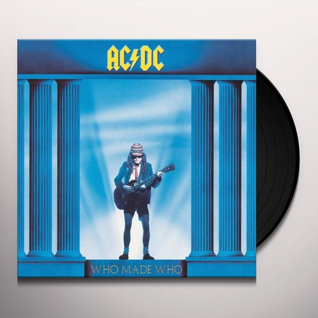 AC/DC WHO MADE WHO Vinyl Record - Remastered