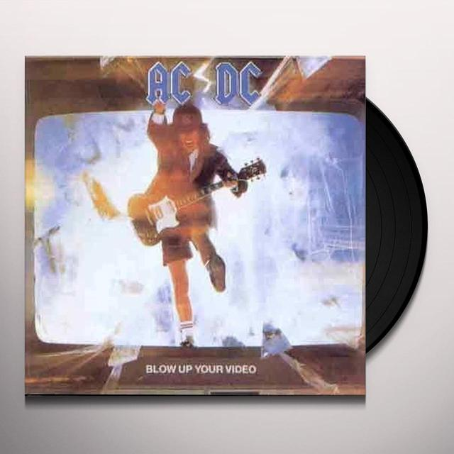 AC/DC BLOW UP YOUR VIDEO Vinyl Record - Remastered