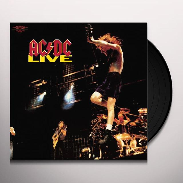 AC/DC LIVE Vinyl Record - Remastered