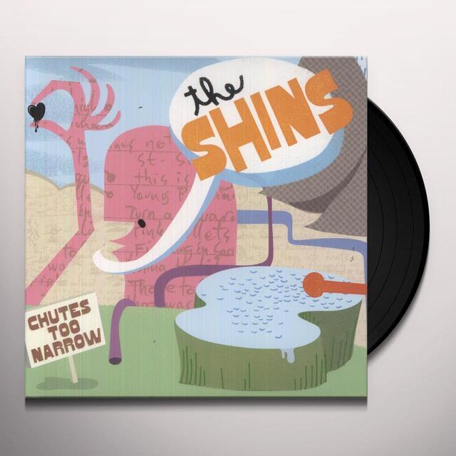 The Shins CHUTES TOO NARROW Vinyl Record
