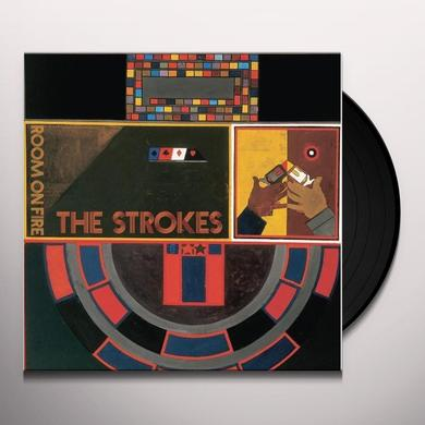 The Strokes ROOM ON FIRE Vinyl Record