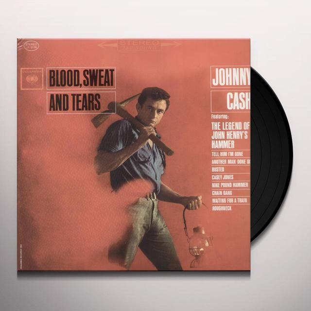 Johnny Cash BLOOD SWEAT & TEARS Vinyl Record