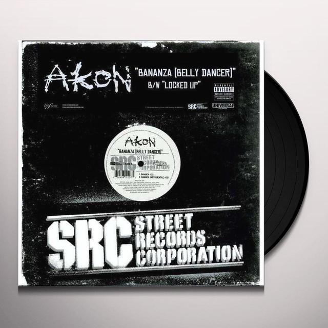 Akon Bananza and Locked Up (Vinyl)