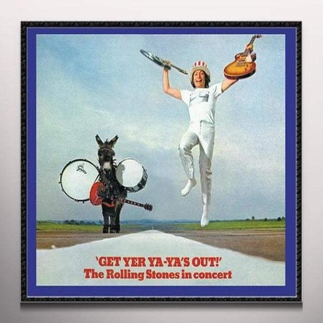 The Rolling Stones GET YOUR YA YA'S OUT Vinyl Record - Clear Vinyl, 180 Gram Pressing