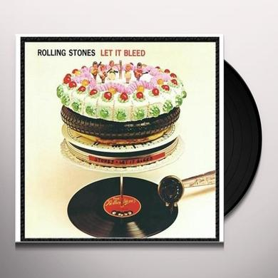 The Rolling Stones LET IT BLEED Vinyl Record - Remastered