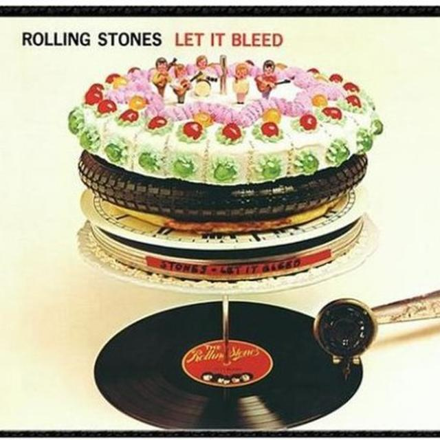 The Rolling Stones LET IT BLEED Vinyl Record