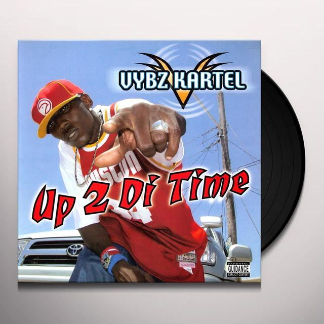 Vybz Kartel UP 2 DI TIME Vinyl Record