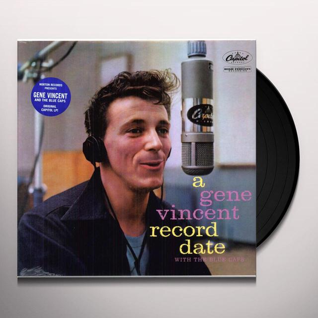 GENE VINCENT RECORD DATE Vinyl Record