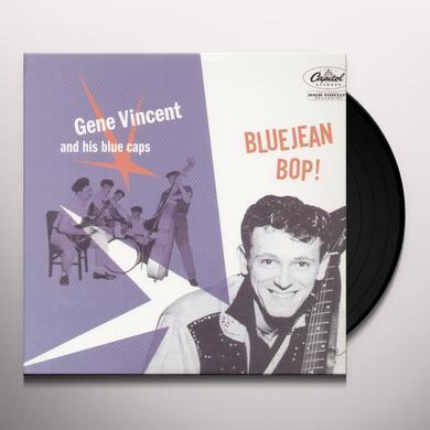 Gene Vincent BLUEJEAN BOP Vinyl Record
