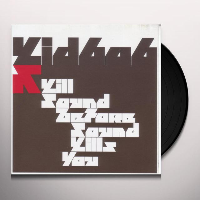 Kid606 KILL SOUND BEFORE SOUND KILLS YOU Vinyl Record
