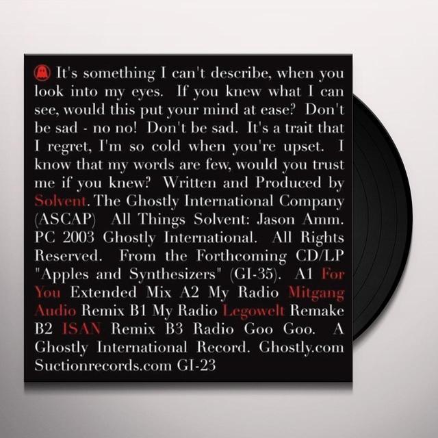 Solvent RADIO GA GA 2 Vinyl Record