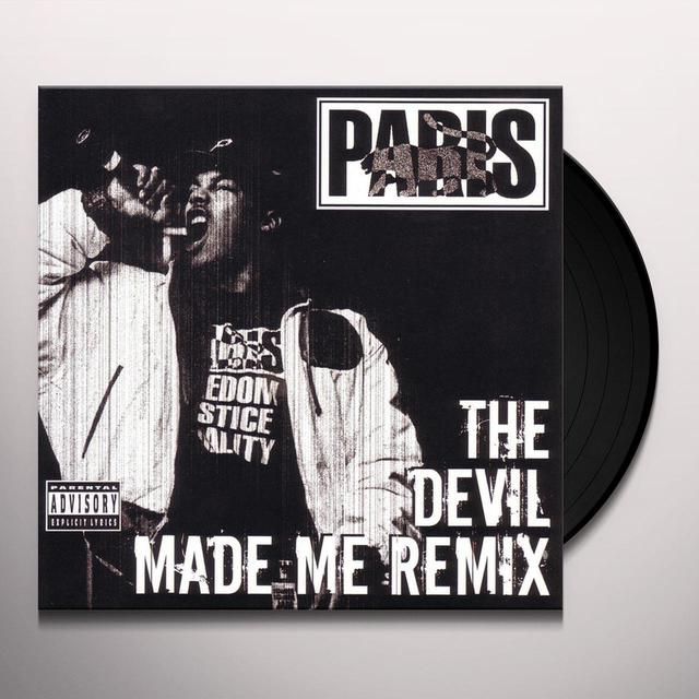 Paris DEVIL MADE ME DO IT Vinyl Record