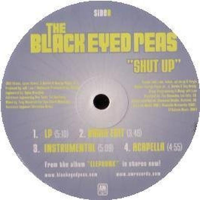 The Black Eyed Peas SHUT UP (X7) (Vinyl)