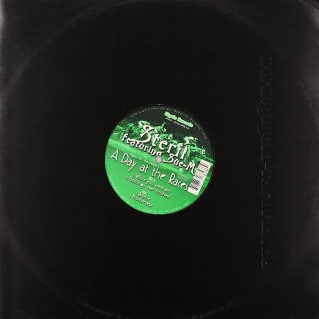 Steril DAY AT THE RACES Vinyl Record