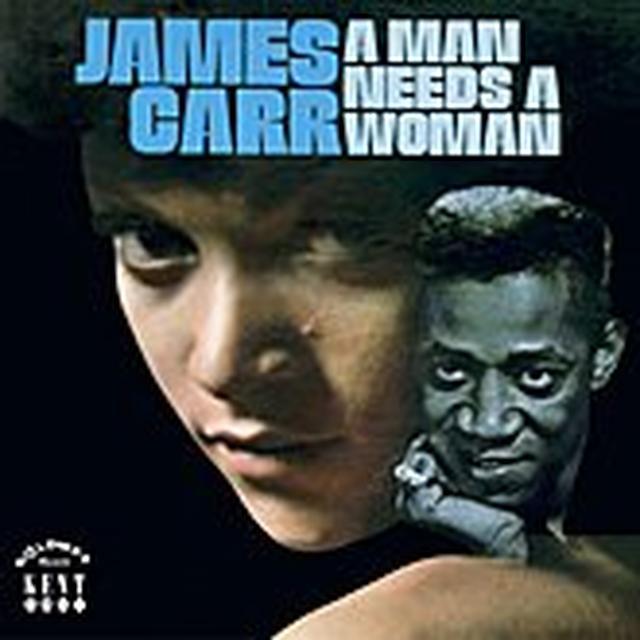 James Carr MAN NEEDS A WOMAN Vinyl Record - UK Import