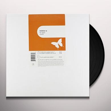 Kristine W FLY AGAIN: REMIXES (X3) Vinyl Record