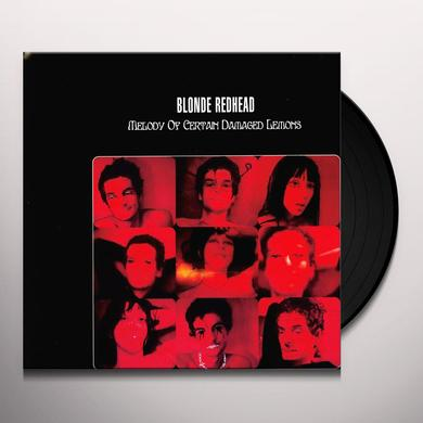 Blonde Redhead MELODY OF CERTAIN DAMAGED LEMONS Vinyl Record