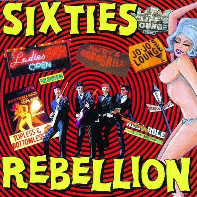 SIXTIES REBELLION 8: THE NIGHTCLUB / VARIOUS Vinyl Record