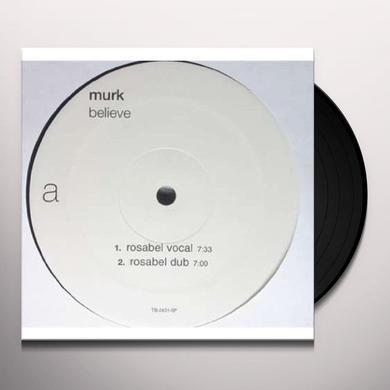 Murk BELIEVE REMIXES Vinyl Record - Remixes