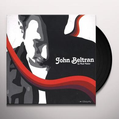 John Beltran IN FULL COLOR Vinyl Record