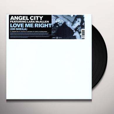 Angel City LOVE ME RIGHT (X3) Vinyl Record