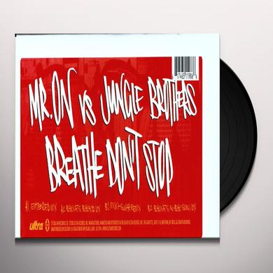 Jungle Brothers BREATHE DON'T STOP Vinyl Record