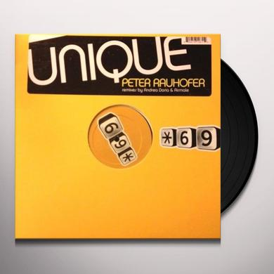 Peter Rauhofer UNIQUE Vinyl Record