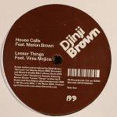 DJINJI BROWN Vinyl Record