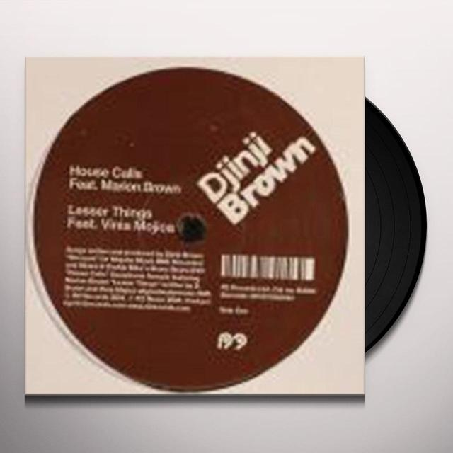 DJINJI BROWN (EP) Vinyl Record
