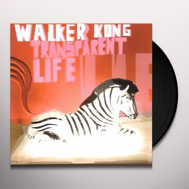 Walker Kong TRANSPARENT LIFE Vinyl Record
