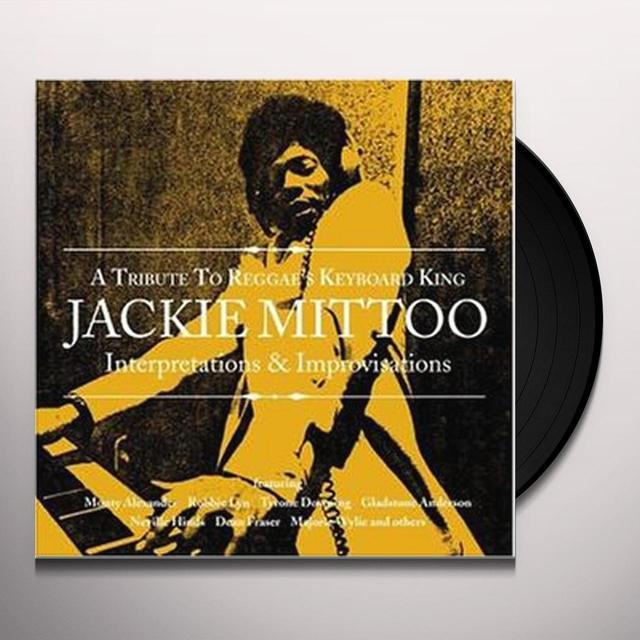 TRIBUTE REGGAE'S KEYBOARD KING JACKIE MITTOO / VAR Vinyl Record