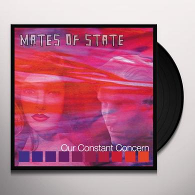 Mates Of State OUR CONSTANT CONCERN Vinyl Record