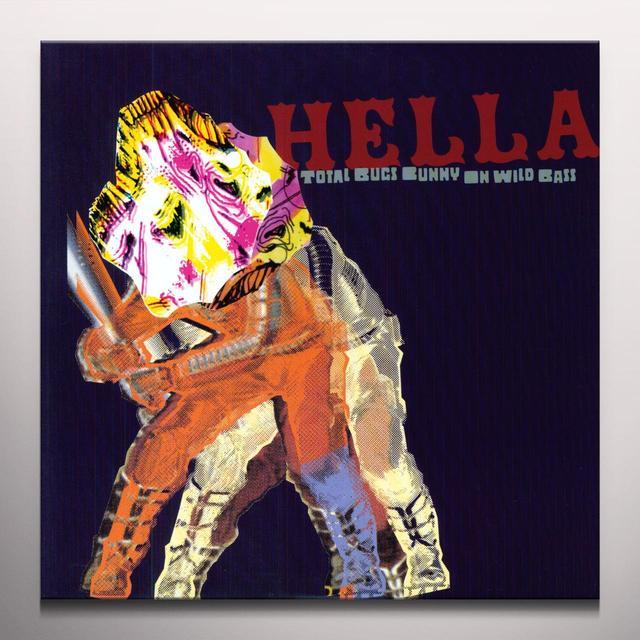 Hella TOTAL BUGS BUNNY ON WILD BASS Vinyl Record - Colored Vinyl, Green Vinyl