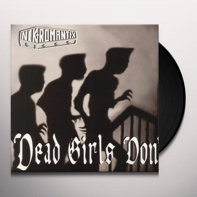 Nekromantix DEAD GIRLS DON'T CRY Vinyl Record