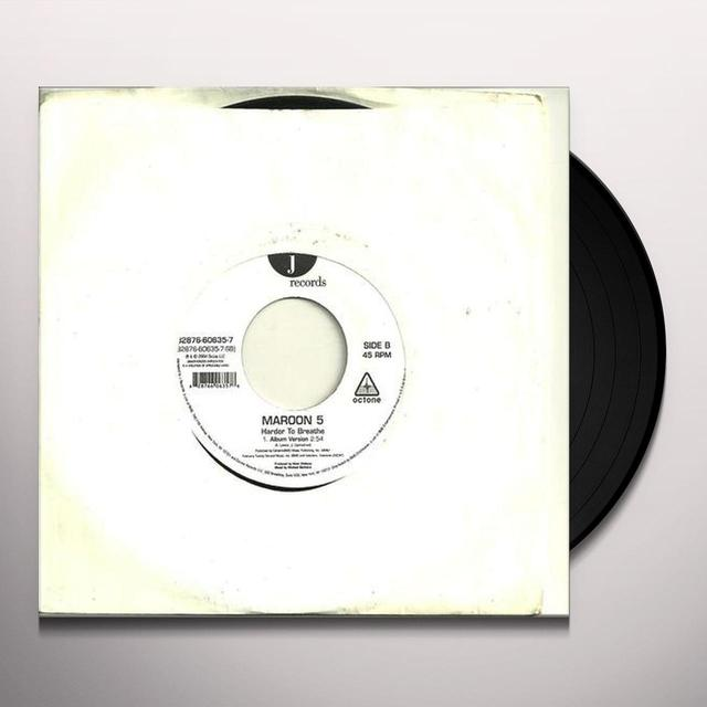 Maroon 5 THIS LOVE / HARDER TO BREATHE Vinyl Record