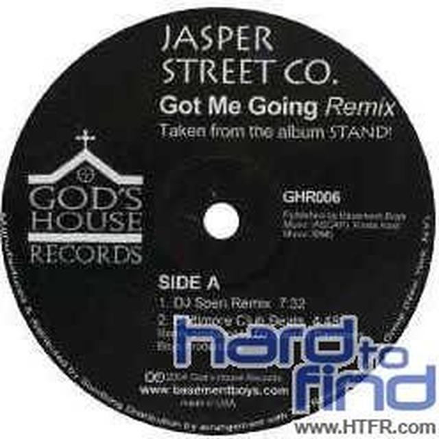 Jasper Street Co GOT ME GOING / HE'S ALRIGHT REMIX Vinyl Record