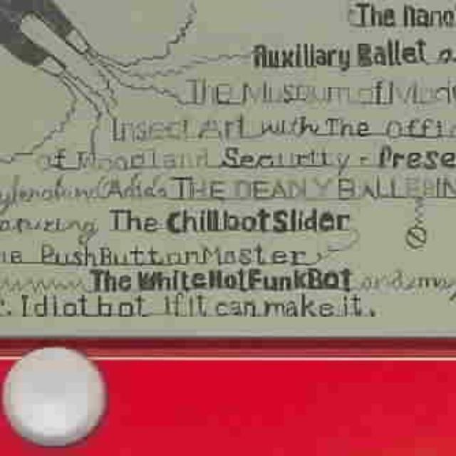 NANOBOT AUXILLIARY BALLET Vinyl Record