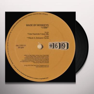 Made By Monkeys I TRY Vinyl Record