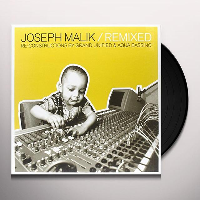 Joseph Malik REMIXED Vinyl Record