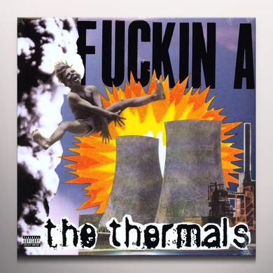 The Thermals FUCKIN A Vinyl Record - Colored Vinyl, Digital Download Included